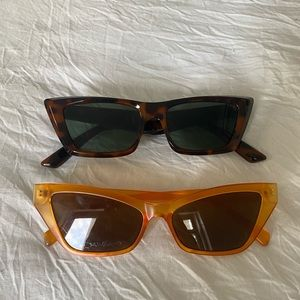 Cat eye sunglasses bundle